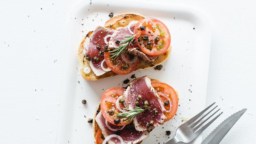 Thunfisch-Bruschetta