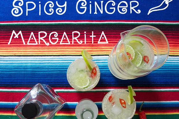 Spicy Ginger Margarita
