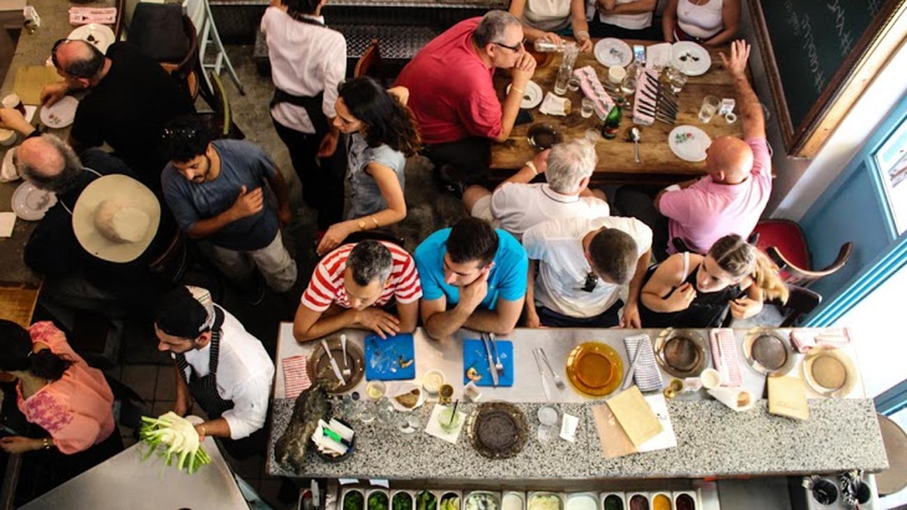 die israelische küche des machneyuda: laut, lustig, lecker