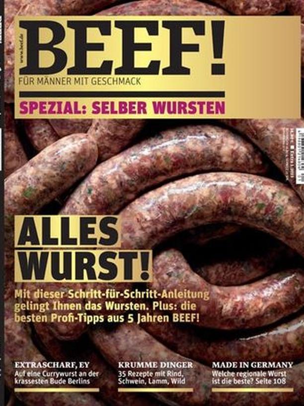 "Zeitschrift ""Beef"""
