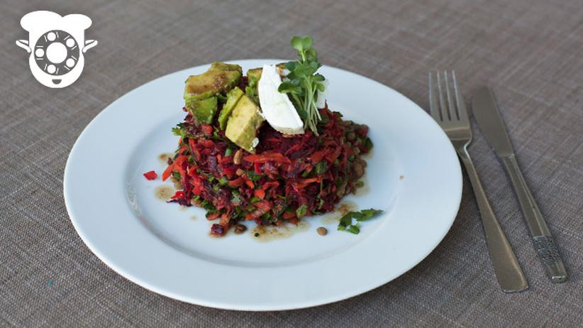 Selfkantine: Schon mal einen Salat auf den Kopf gestellt?