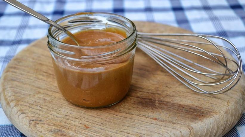 Dulce de Leche: Karamellige Creme aus Kondensmilch, aus Argentinien