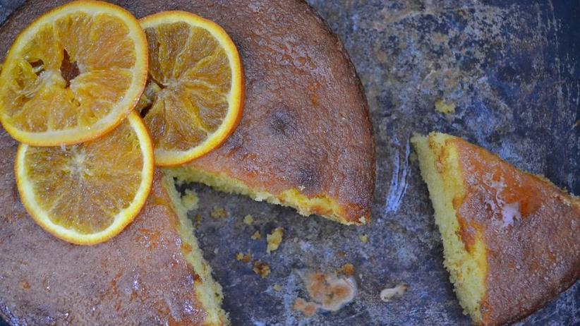 Orangen-Polenta-Kuchen