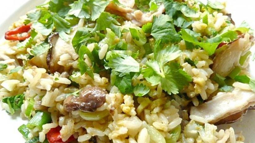 Einfacher Fried Rice