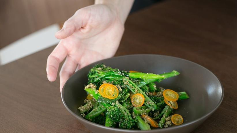 Brokkoli-Salat mit Kumquats