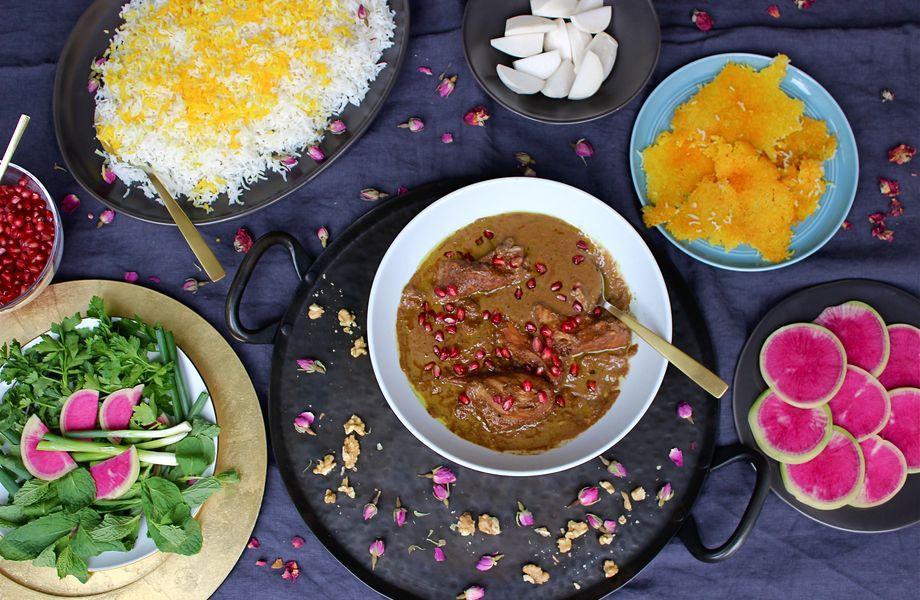 ZeitMagazin, Persische Küche, Blog, Gericht, Los Angeles, Teheran, Vancouver
