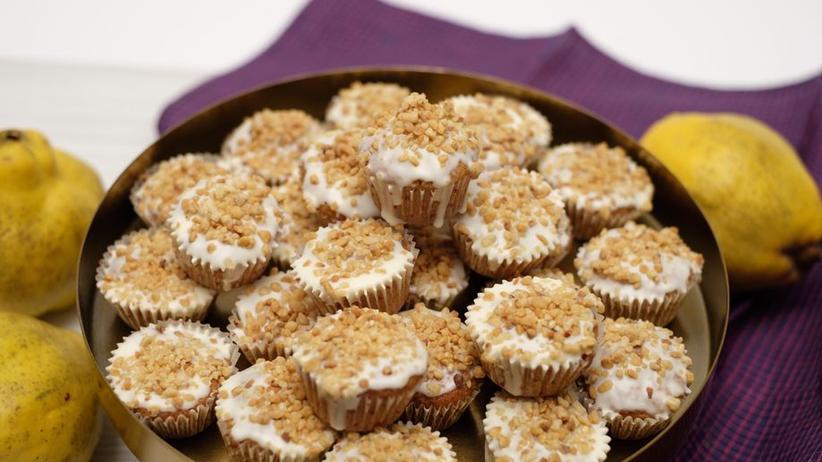 Kleine Quitten-Muffins