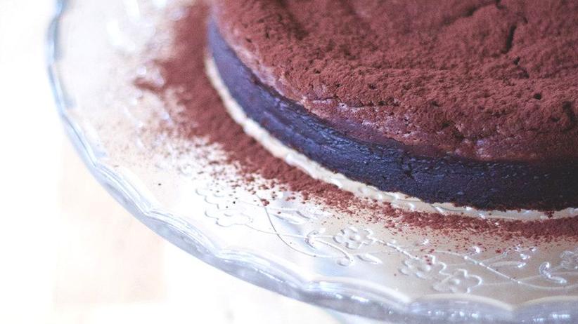 Saftiger Schoko-Maronen-Kuchen