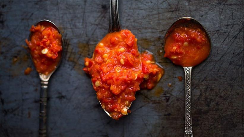 Knoblauch-Chili-Sauce
