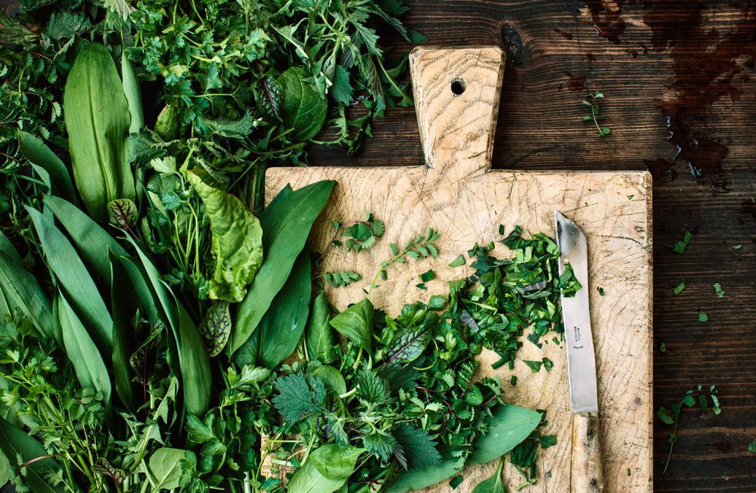 Kochen mit Kräutern: Das Beste vom Balkon