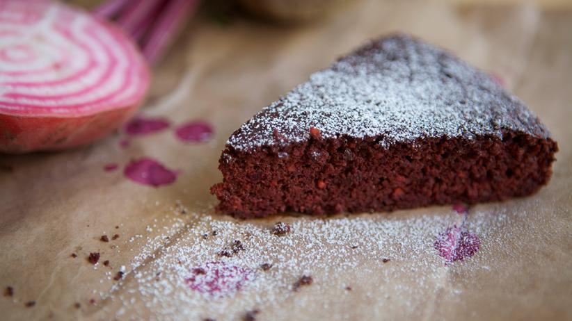 Schokoladen-Randen-Kuchen