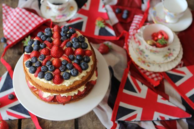 Britisches Essen: Britannia Sandwich Cake