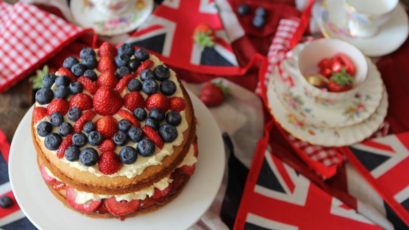 Britisches Essen: Auf einen Tee mit der Queen