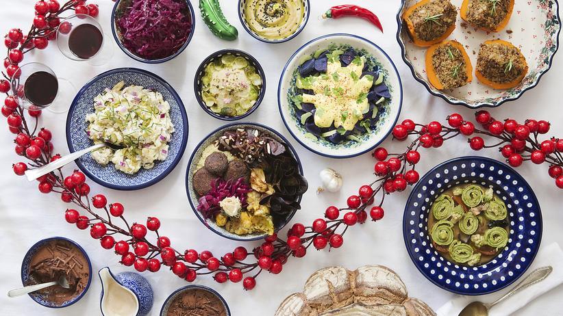 Veganes Weihnachtsessen: Festliche Völlerei
