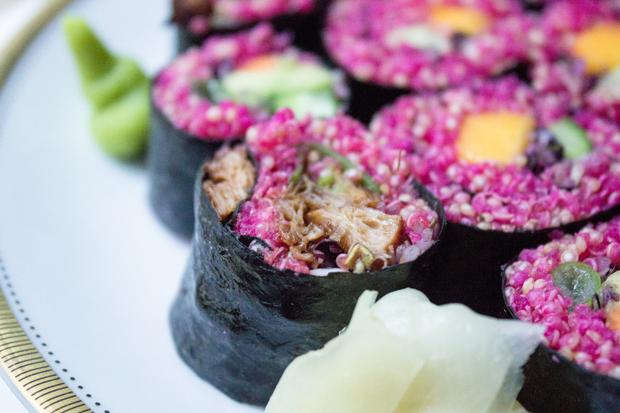 Rote-Bete-Sushi
