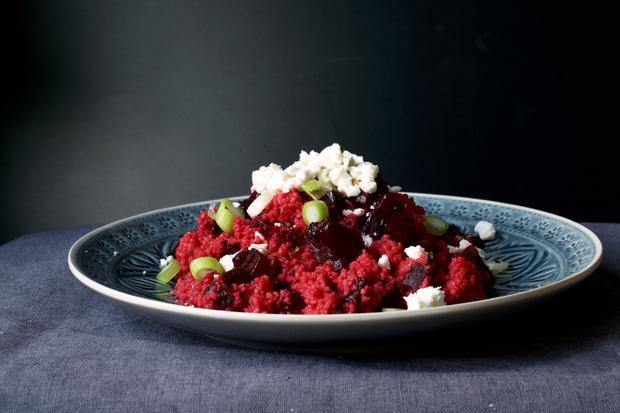 Couscous: Couscous Salat mit Roter Bete