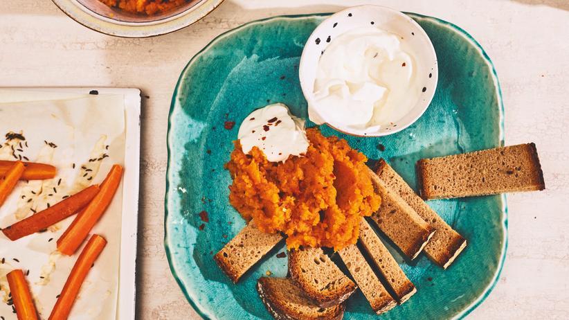 Karottenpüree mit Kümmel