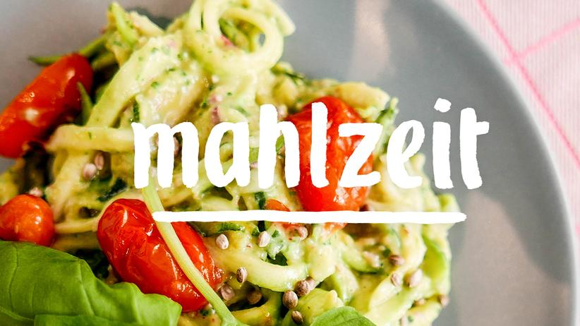 Gemüsespaghetti: Fast schon Fitness
