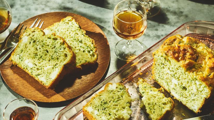 Cake mit Kräutern und Käse