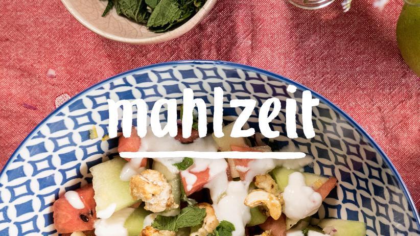 Melonensalat: Ferien zum Selbermachen