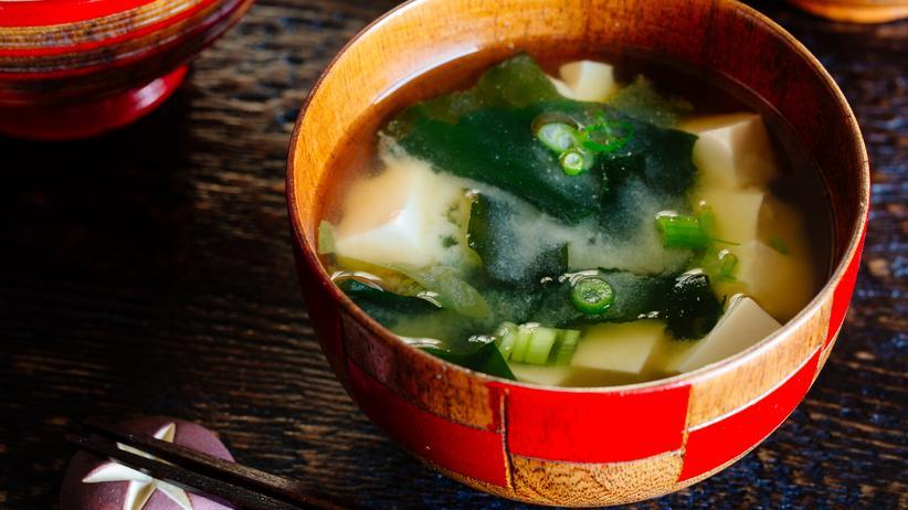 Japanische Küche: Miso-Suppe