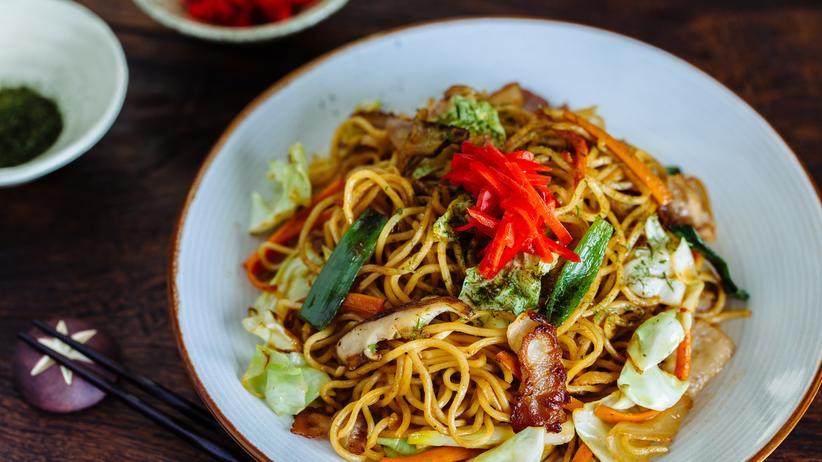 Japanische Küche: Yakisoba