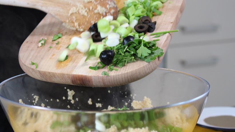Huhn mit Couscous