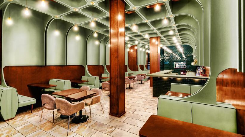 Restaurant-Architektur: Es ist angerichtet