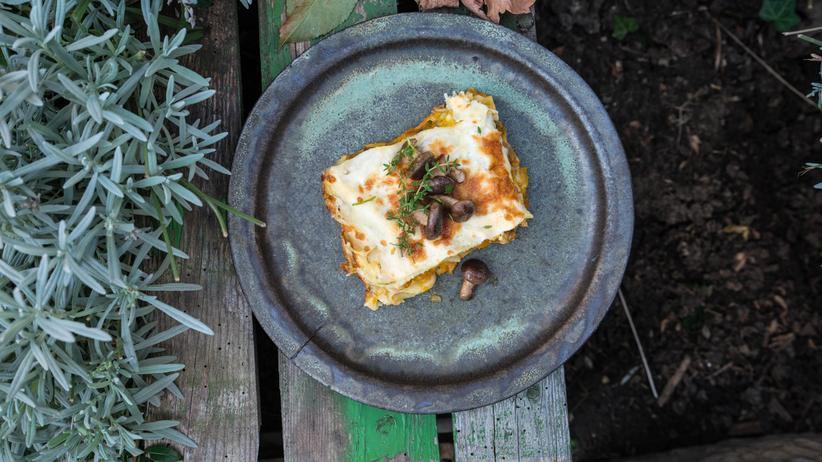 Kürbis-Lasagne: Tröstliches aus dem Burgenland