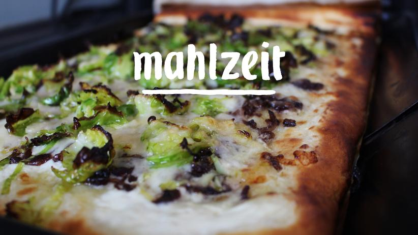 Winterpizza: Die blubbern ja wieder