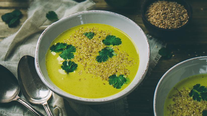 Curry-Kokossuppe
