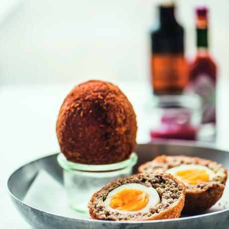 Eier rezepte schottische eier zeitmagazin - Eier kochen zeit ...