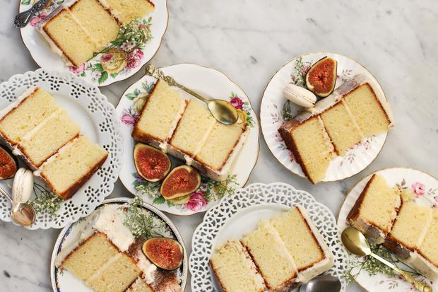 Sauerteigbrot: Zitronen-Ricotta-Kuchen