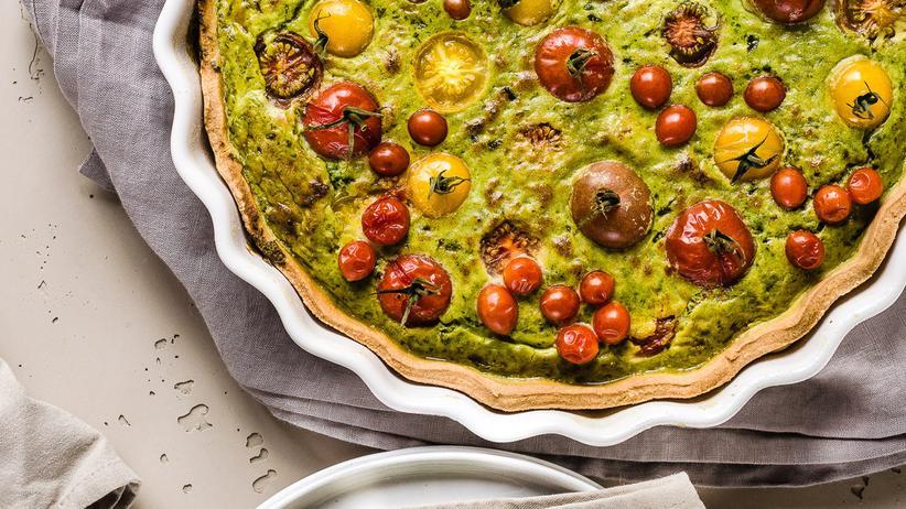 Pulpo: Die Quiche schmeckt heiß aus dem Ofen am besten – aber sie lässt sich auch sehr gut zu einem letzten Sommer-Picknick mitnehmen.