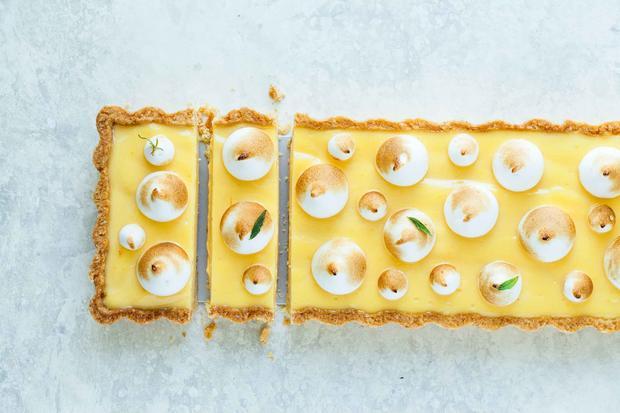 Zitronenbaisertarte: Früchte muss man feiern