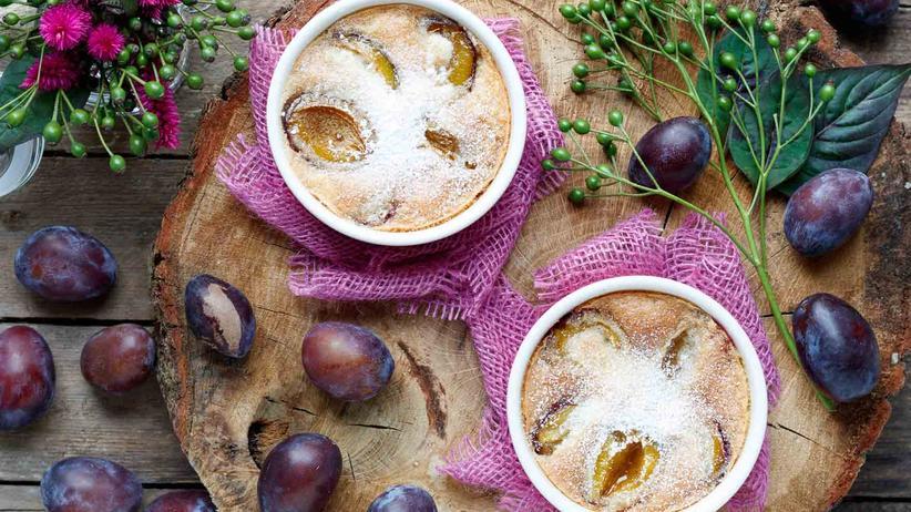 Feigentarte: Kuchen oder Dessert? Clafoutis passt immer.
