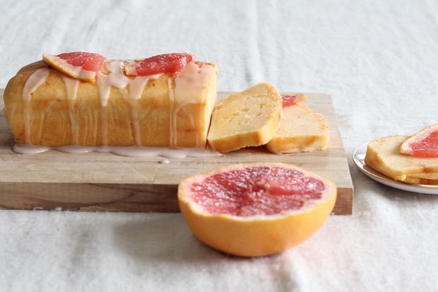 Grapefruit-Joghurtkuchen: Jeder Kuchen hat seine Zeit