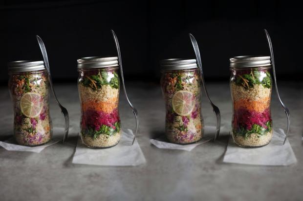 Probiotischer Salat to-go: Probiotischer Salat
