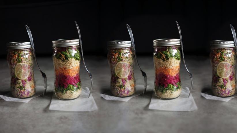 Probiotischer Salat to go: Nimm's einfach mit