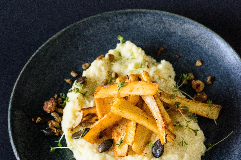 So französisch kann Kartoffelpüree sein