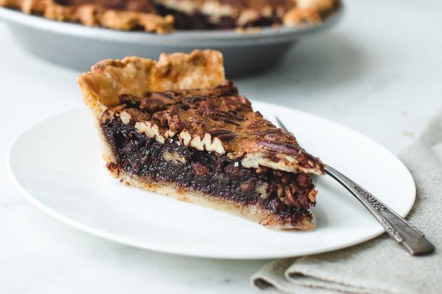 Marshmallow-Brownies: Pecannusskuchen, mächtig süß und herrlich klebrig: Es kommt nämlich noch Schokolade rein.