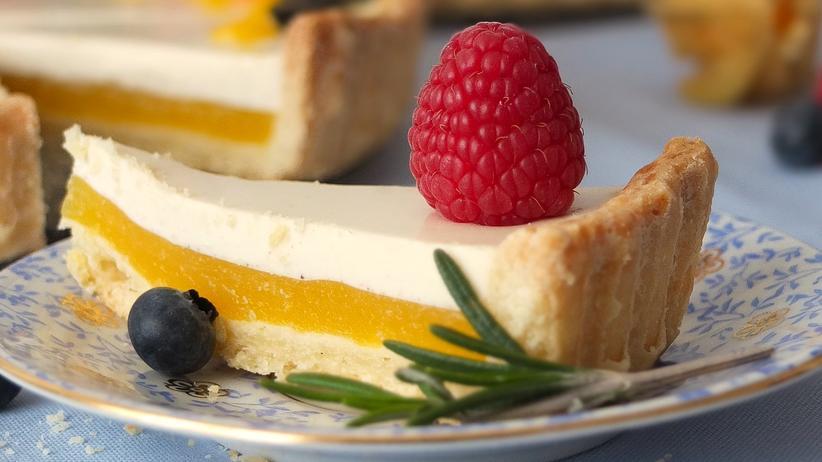 """Panna Cotta sei """"geliertes Glück"""", sagt Elena Cremer. Funktoniert auch als Torte mit viel Frucht!"""