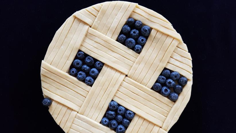 Heidelbeer-Pie: Die Beeren aus dem eigenen Garten
