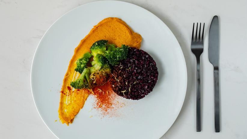 Curry-Kürbispüree: Gemüse als Gemälde