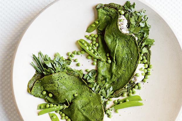 Glutenfreie Rezepte: Grüne Pfannkuchen