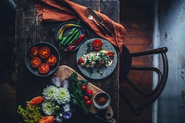 Quinoa-Kebap
