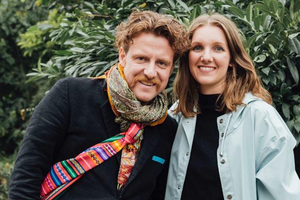 Nachhaltige Ernährung: Billy Wagner, Inhaber des Berliner Restaurants Nobelhart & Schmutzig, mit Friederike Gaedke, Projektleiterin der Gemeinschaft