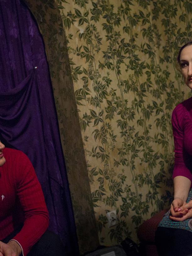 Beslan und Kheda Dovletmurzaeva