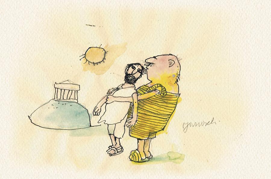 Janosch: Versöhnung mit den Griechen
