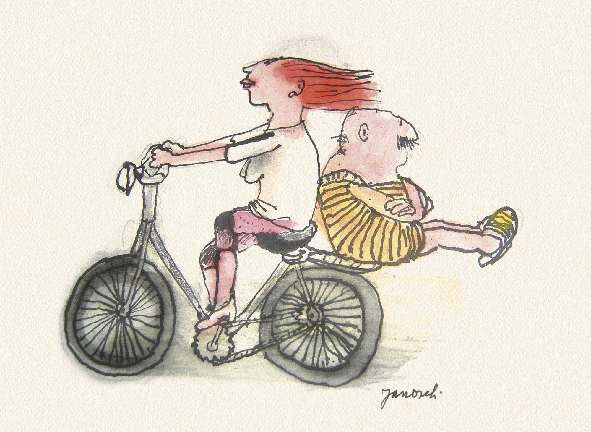 Janosch: Radfahren